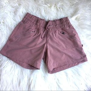 Zella Pinkish Mauve Athletic Shorts XXS